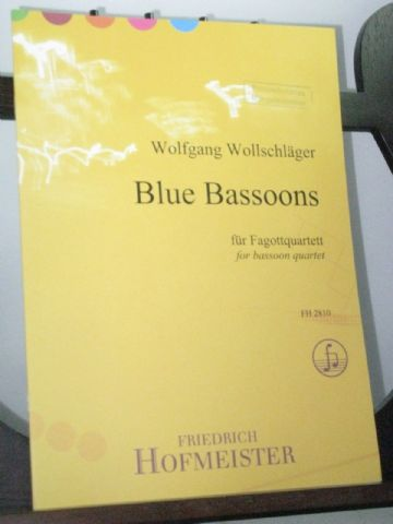 Wollschlager W - Blue Bassoons for Bassoon Quartet